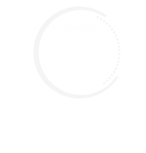 shows Optomatica Logo on the website