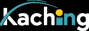 Kaching App white logo