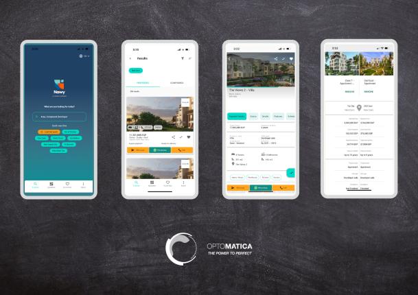 Nawy App Screens